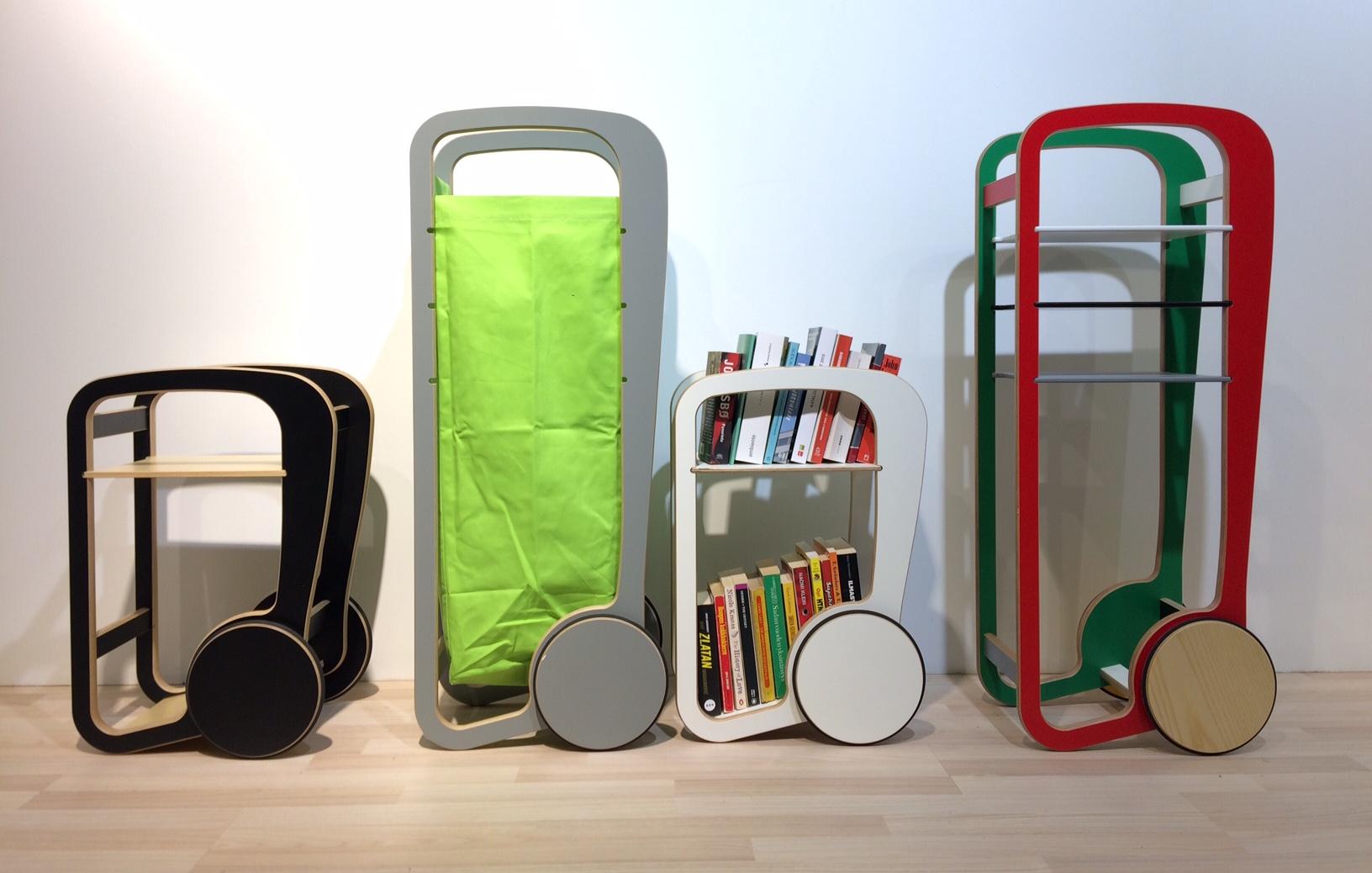 fleimio trolleys at Stockholm Furniture Fair 2017
