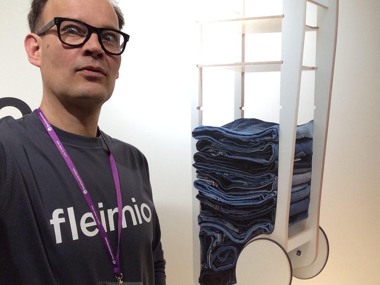 Fleimio selfie in Stockholm Fair 2017