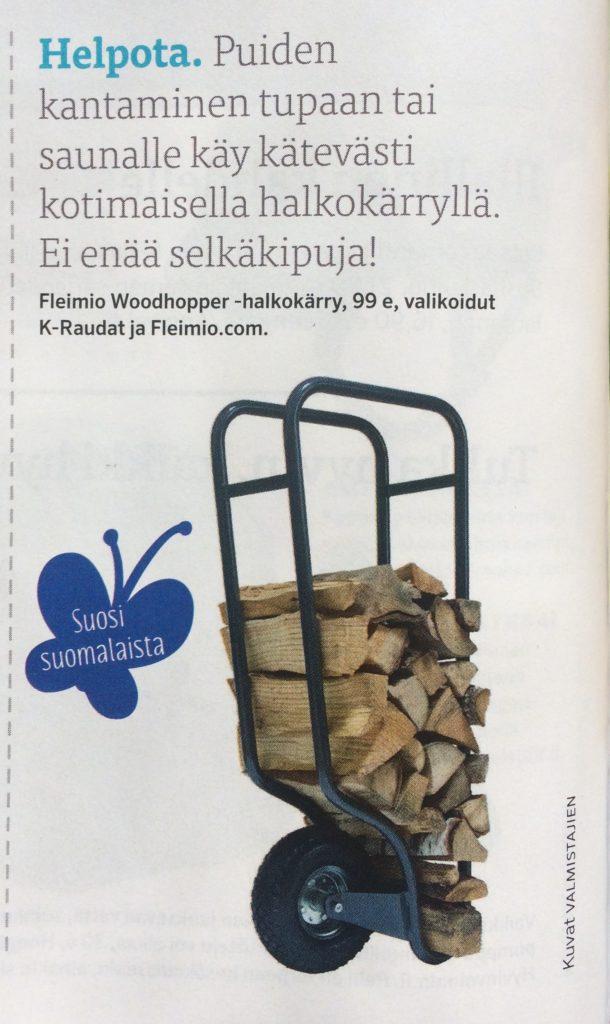 fleimio woodhopper in Unelmien Talo & Koti magazine 28062017