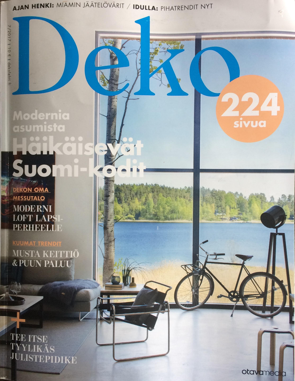 Deko magazine 7 2017 mikkeli housing fair house wave for Deko magazin