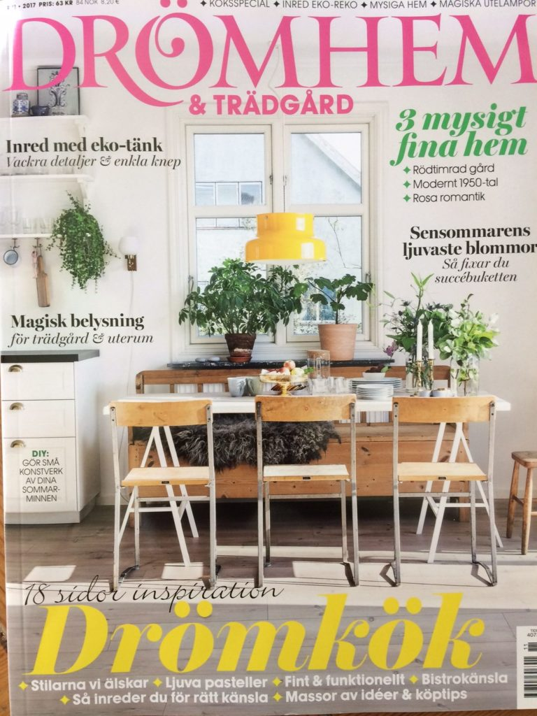 Cover of the Drömhem & Trådgård 11 08/2017