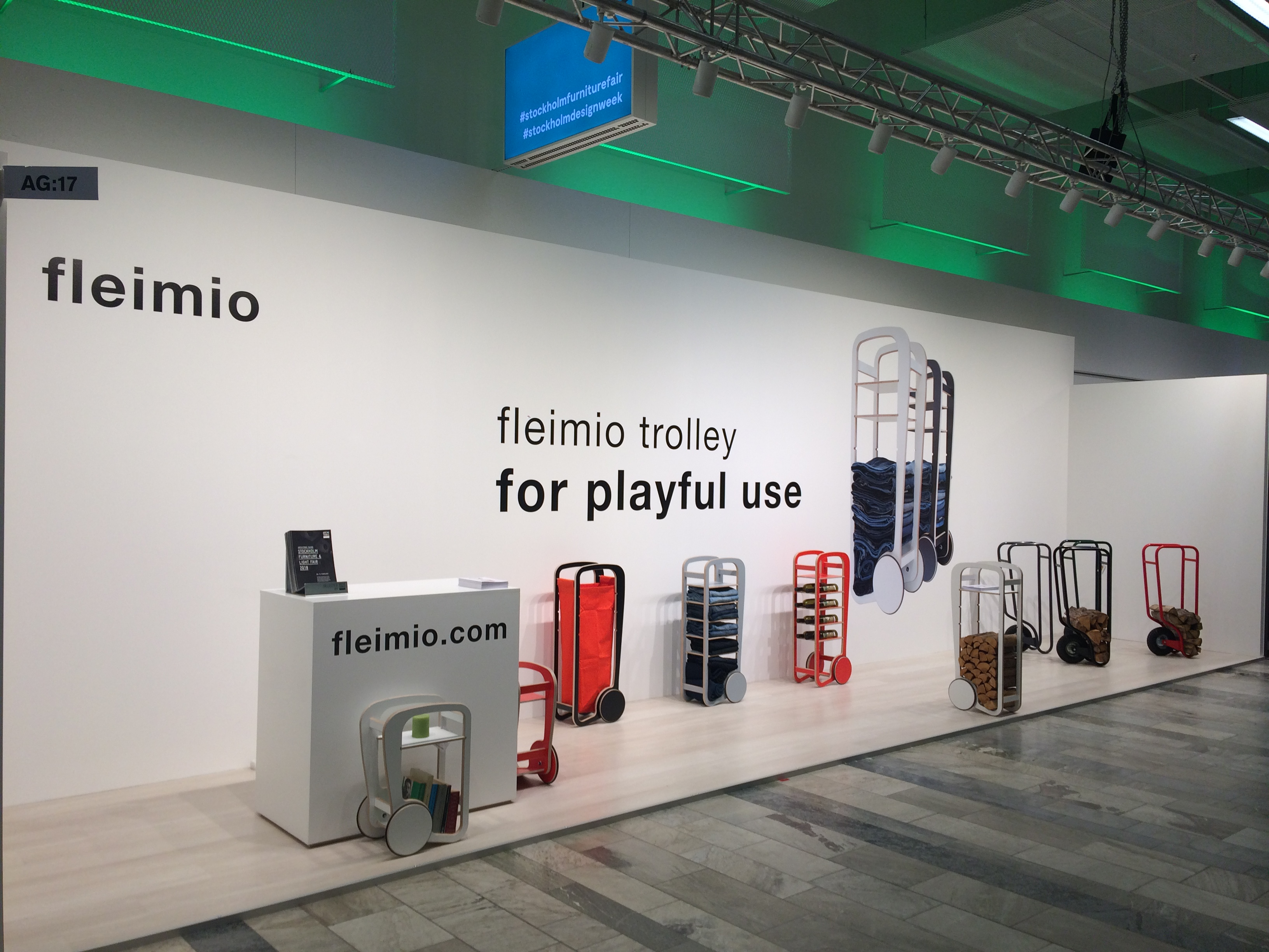 fleimio stand stockholm furniture and light fair 2018