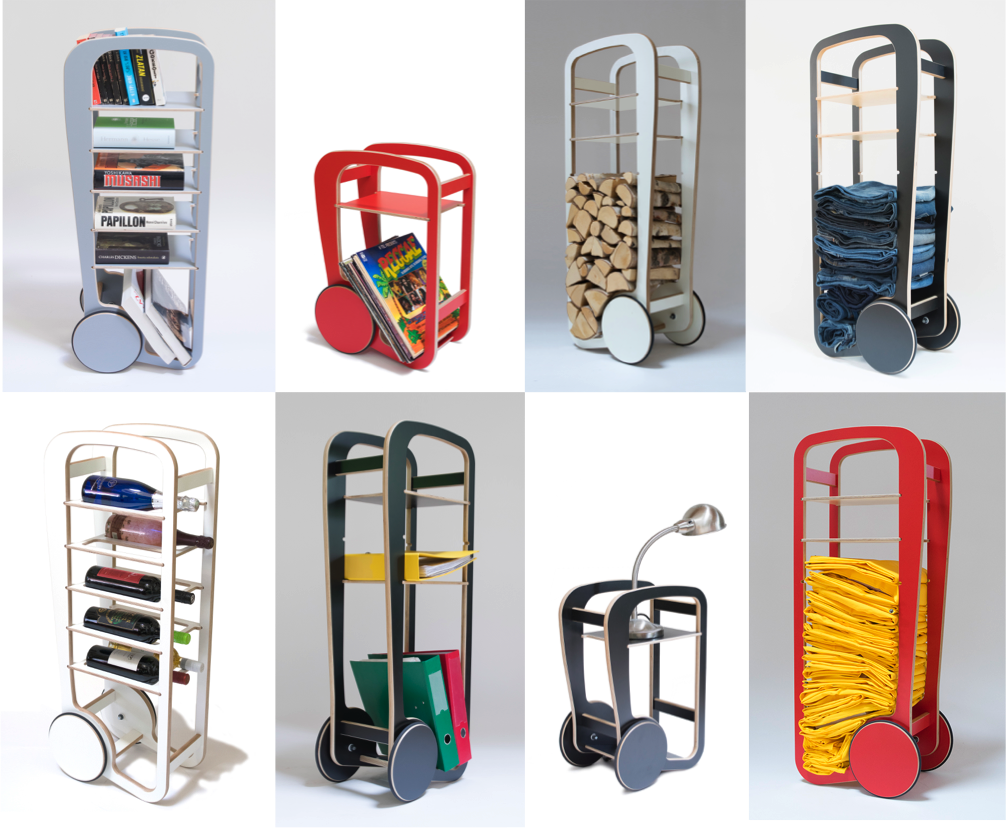 versatile fleimio trolleys for playful use