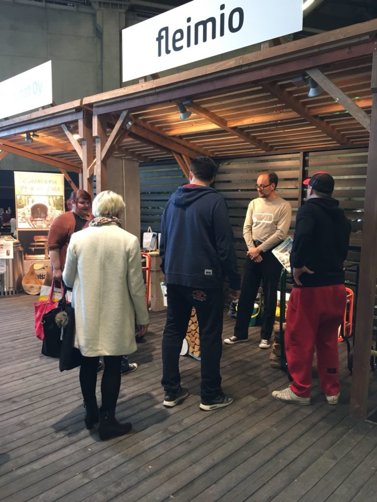 visitors Spring Fair Helsinki fleimio 2018