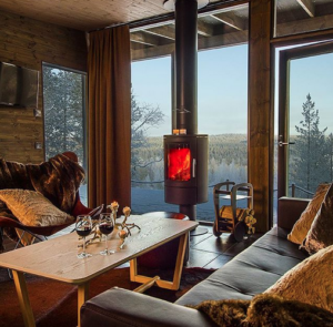 arctic treehouse hotel suites with fleimio mini trolleys