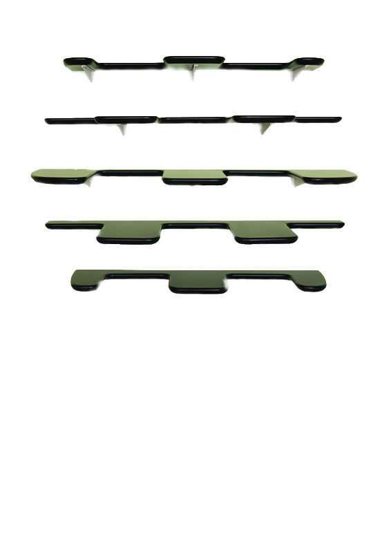 fleimio design - pine cone shelf - black