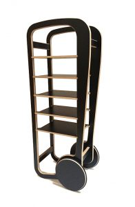 fleimio design trolley - black
