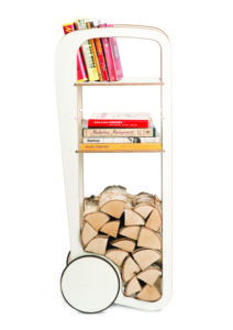 fleimio trolley original with logs and books