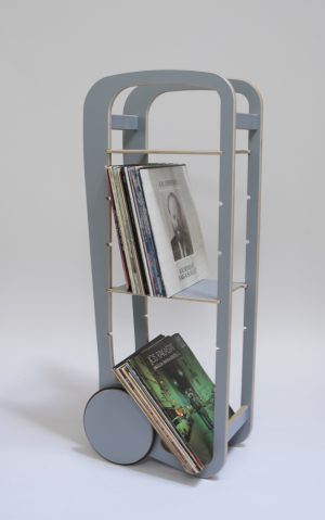 fleimio trolley with vinyls