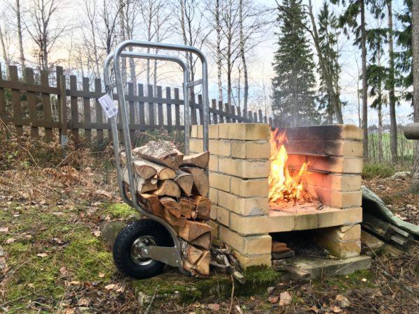 fleimio woodhopper kuumasinkitty / hot zinc coated