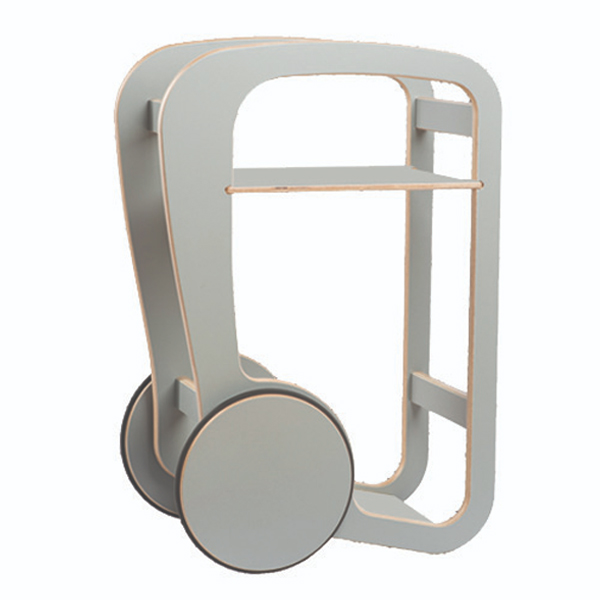 fleimio design - trolly mini - grey