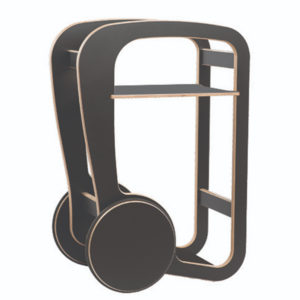 fleimio design - trolly mini - black