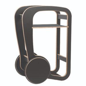 fleimio design - trolly mini - black