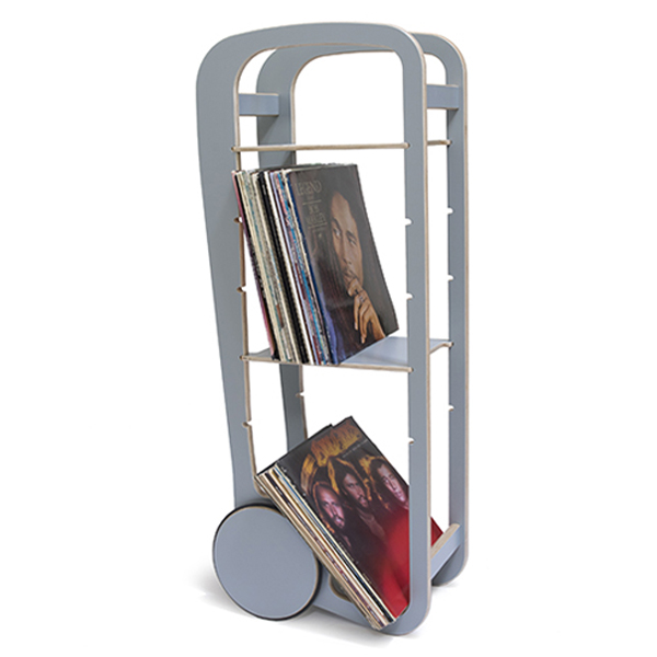 fleimio design original trolley - grey with vinyls