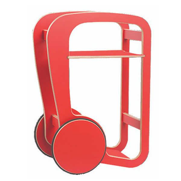 fleimio design - trolly mini - red
