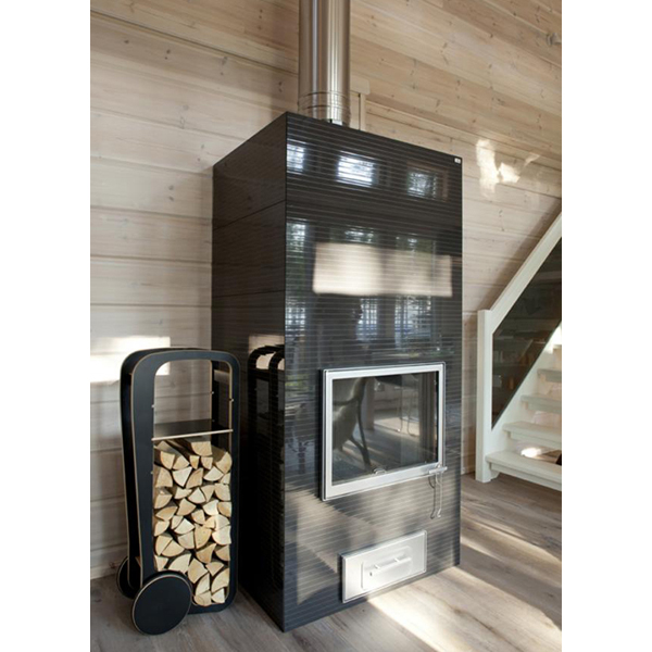 fleimio design trolley - black with logs