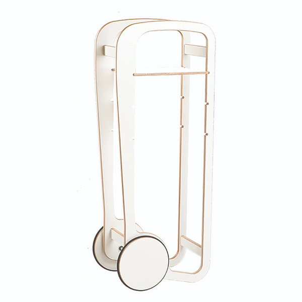 fleimio design trolley - white