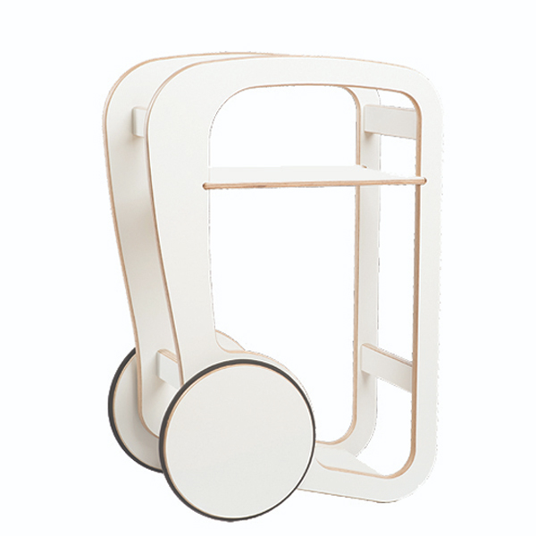 fleimio design - trolly mini - white