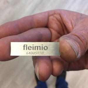 fleimio product registering sign