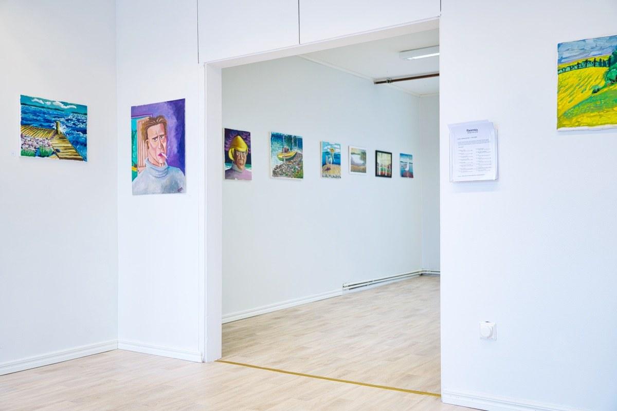 fleimio art-gallery's surprise exhibition april 2020