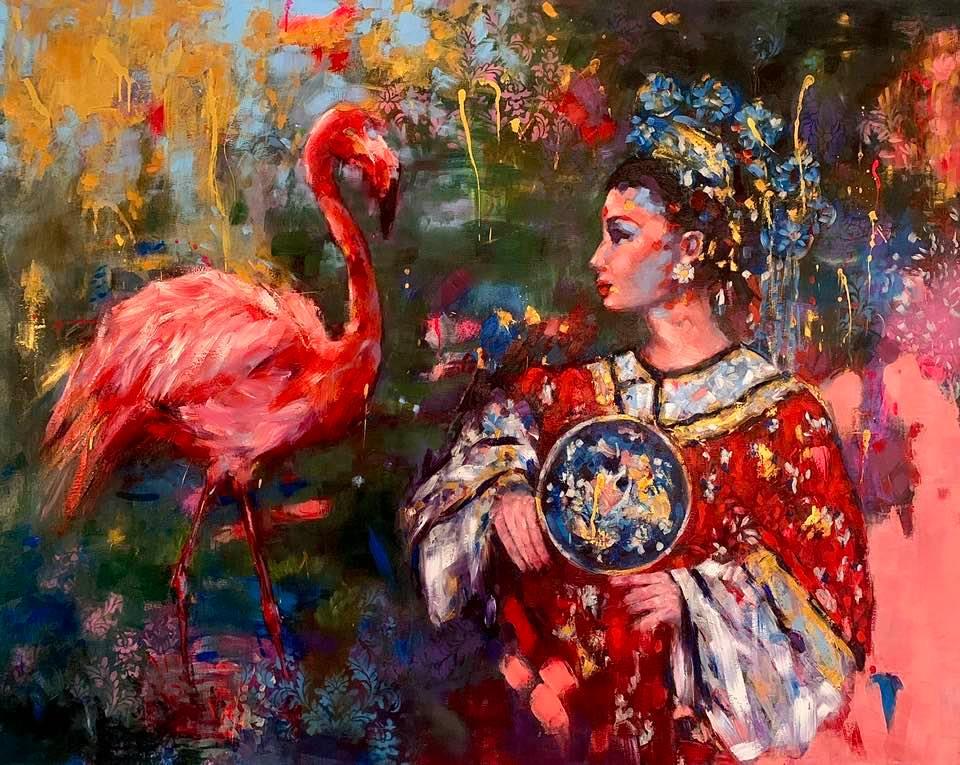 Katariina Souri teoskuva fleimio art-gallery marraskuu 2020