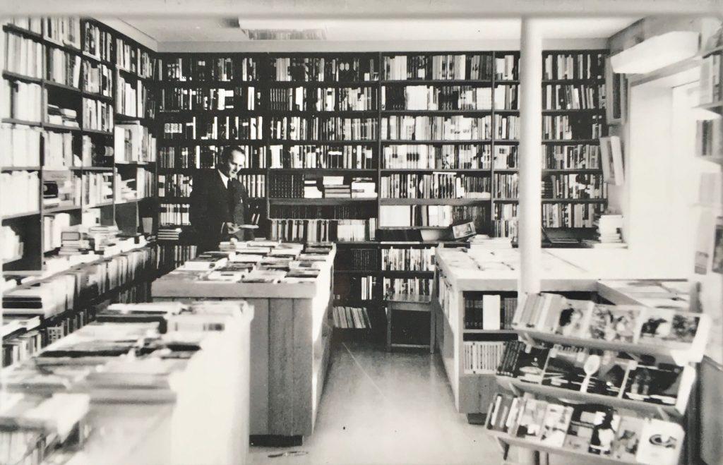 Haikosen kirjakauppa 50-luvulla kuva Tuusulan museo